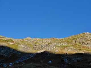 Gaining the East Ridge of Father Dyer