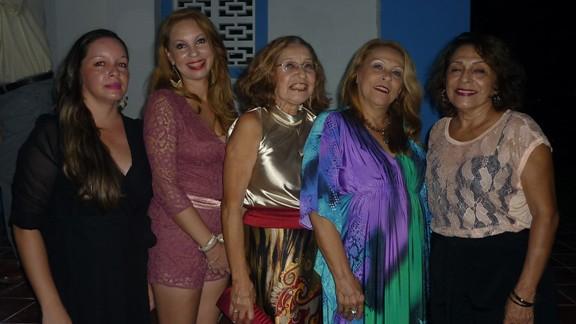 As Jennings: Vanessa, Roberta, Eilah, Riva e Selva