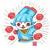 Line stickers 004 #fighting #clenched #win #beat #attached #defeat #hit #rabbit #bunny #ninja #graphic #graphicdesign #character #characterdesign #illustrator #illustration #doodle #doodling #draw #draws #drawart #drawing #drawings #watercolor #ink #insta