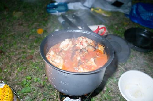 肉と野菜とトマト煮たやつ