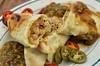 Mmm... chicken chili burritos