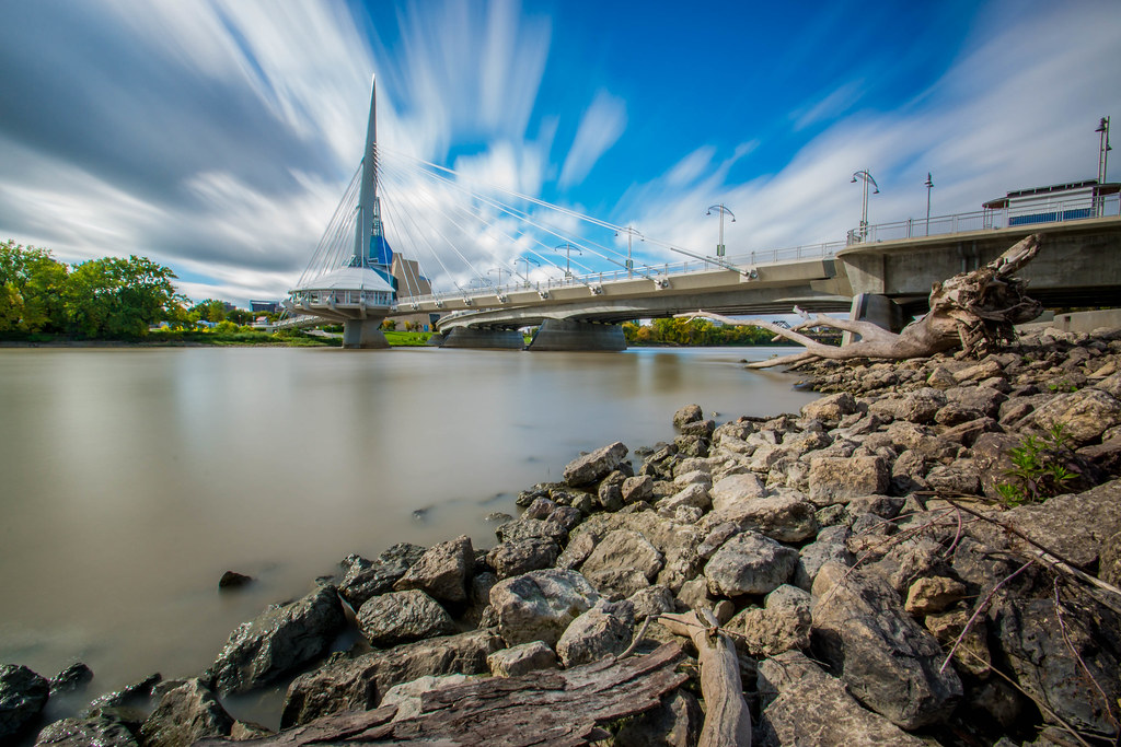 Esplanade Riel Bridge - Winnipeg