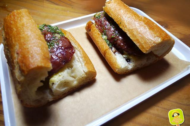 Corkbuzz - cotechino sausage sandwich