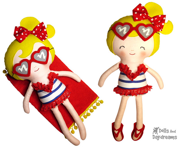 Bikini Girl Sewing Pattern Beach Babes!