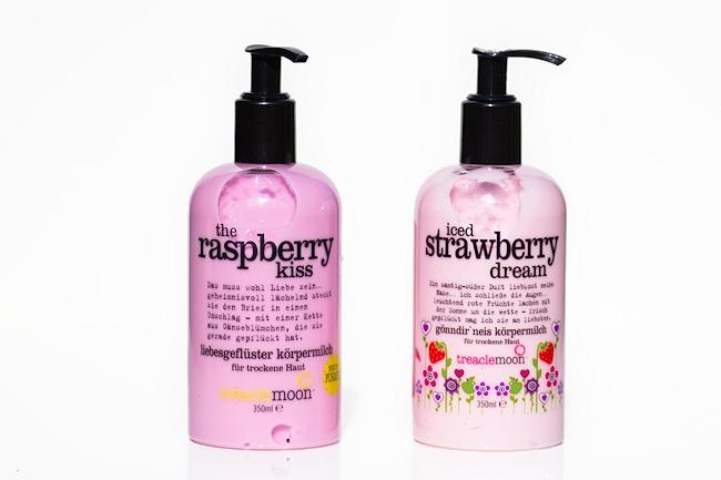 Treaclemoon Körpermilch neue Formel, Iced Strawberry Dream, The Rasberry Kiss