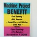 Machine Project Benefit by Machine Project
