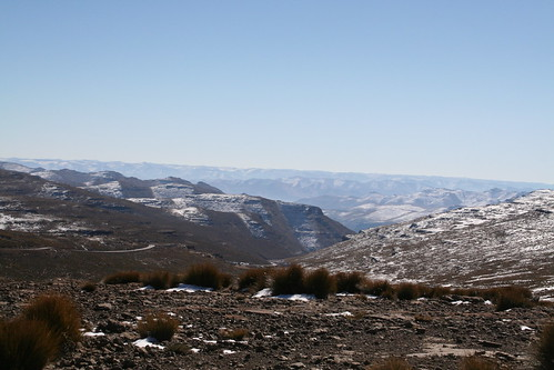 Spectacular scenery in Lesotho