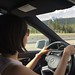 Driving to Canmore