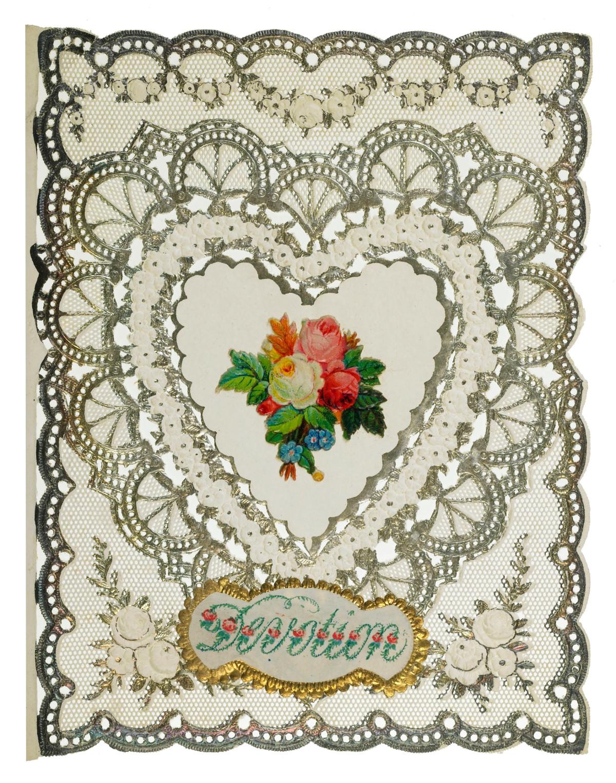 Valentine Card, c.1870