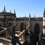 Cathedral of Seville képe. sevilla seville giralda catedraldesantamaríadelasede cathedralofsaintmaryofthesee spain españa sevillecathedral