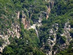 La cascade de 40m du canyon du Vivaghju