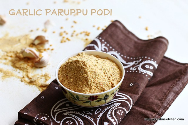 Garlic-paruppu-podi
