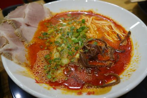 Spicy Tonkotsu Ramen (Level 1) at Hakata Ikkousha CHIJMES