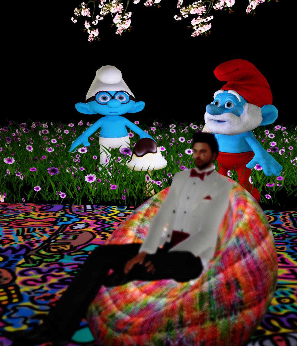 Smurfs in Wonderland