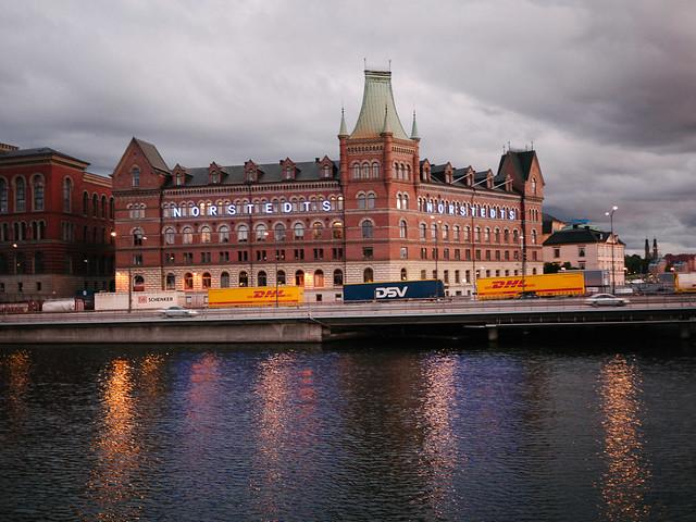 Atardecer en Estocolmo