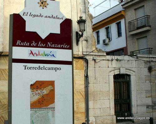 Jaén Torre del Campo - Ruta de los Nazaríes GPS 37.770278, -3.896667