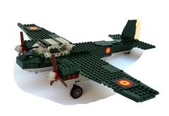 Junkers Ju-88 spain