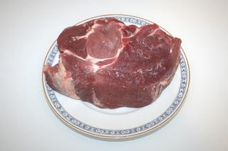 05 - Zutat Schweinenacken / Ingredient pork
