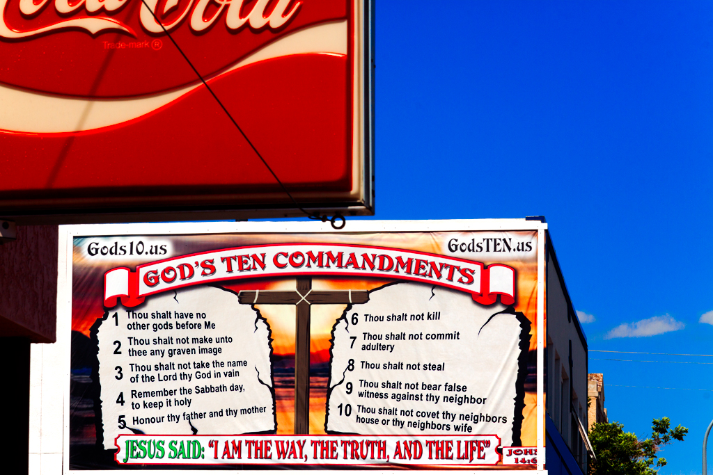 GOD'S-TEN-COMMANDMENTS--Williston