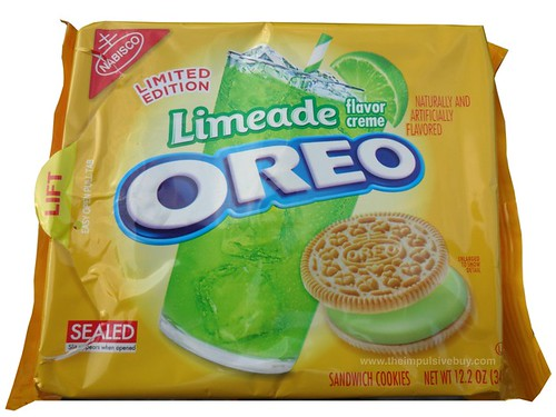 Nabisco Limited Edition Limeade Oreo Cookies