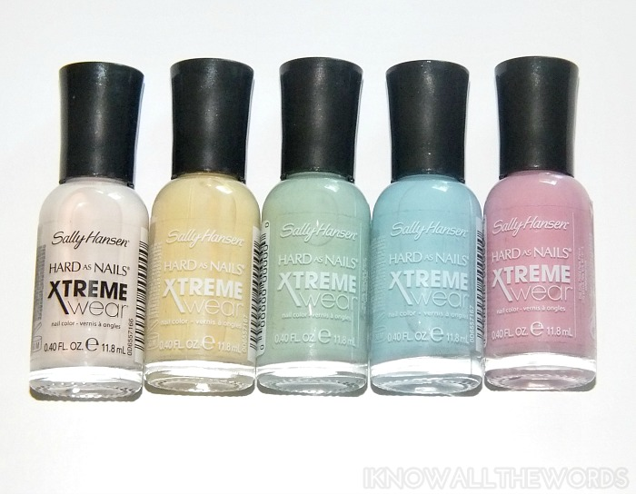 sally hansen xtreme wear sea bloom collection  (2)