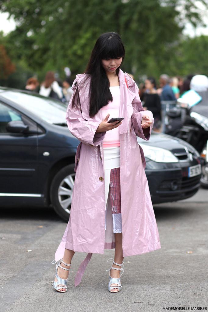 Susie Lau at Paris fashion week Haute Couture