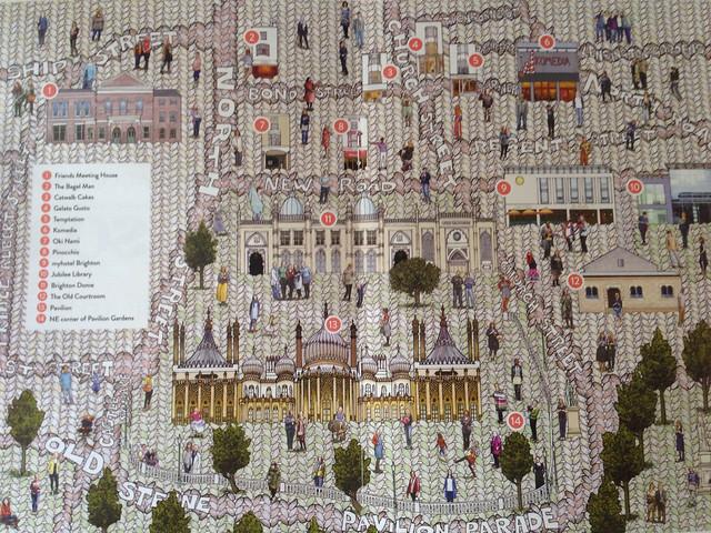 Brighton map - Unwind style!