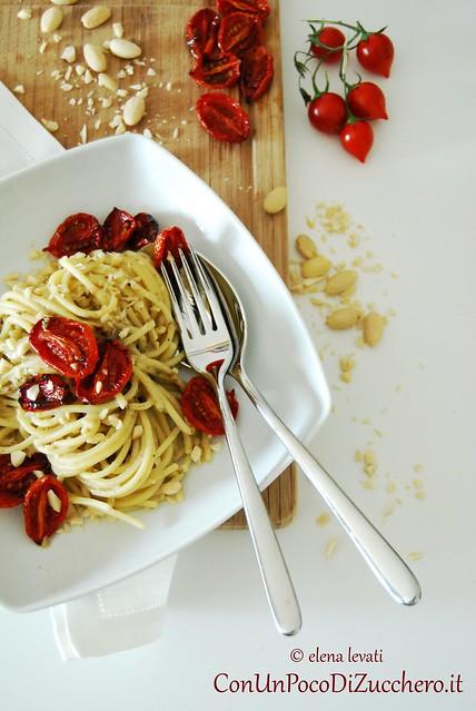 Spaghetti pomodorini confit 2