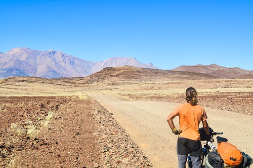Cycling the surreal landscape of Brandberg West