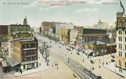 Pennsylvania Avenue NW, Washington, DC, postcard