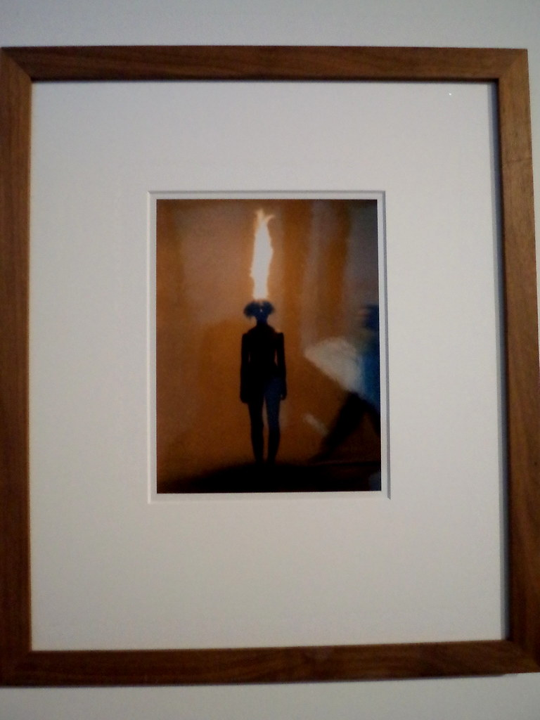 [Passage sainte Croix] Jana Sterbak, Artist as a combustible, 1986
