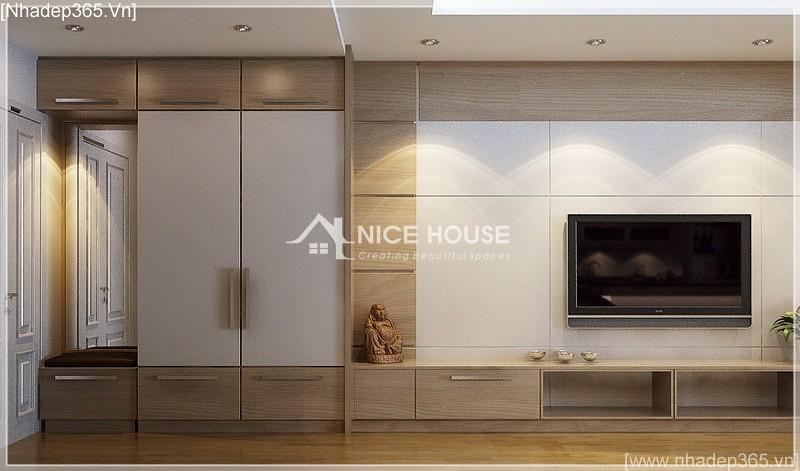 Thiết kế nội thất căn hộ nhà cô Hằng - HN_06