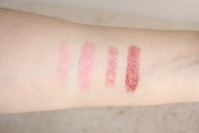 Mereadesso Lip Treat swatches
