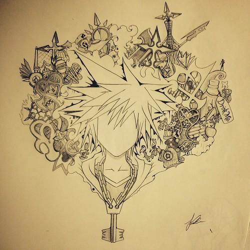 Kingdom Hearts by Invanity-WeTrust