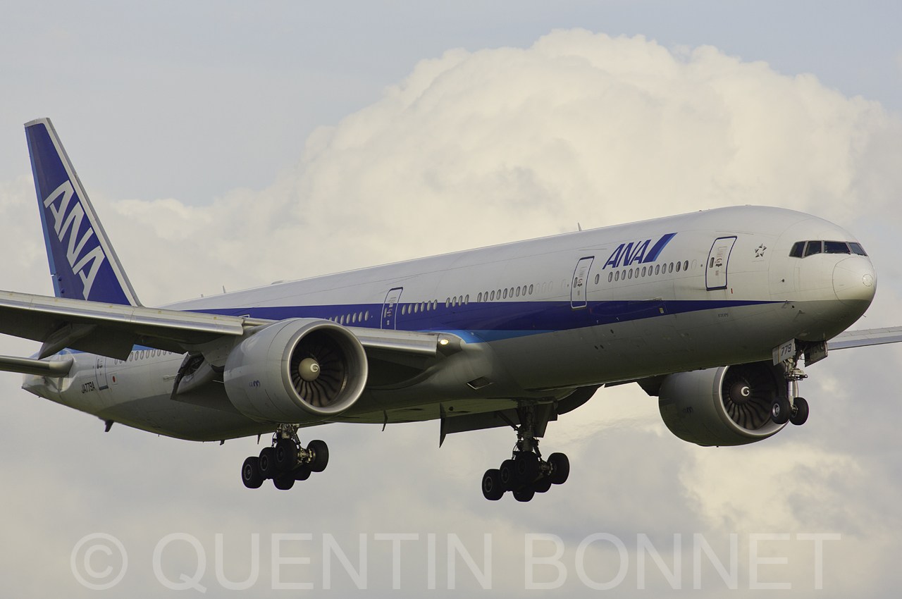 All Nippon Airways 777-3DZ/ER JA779A