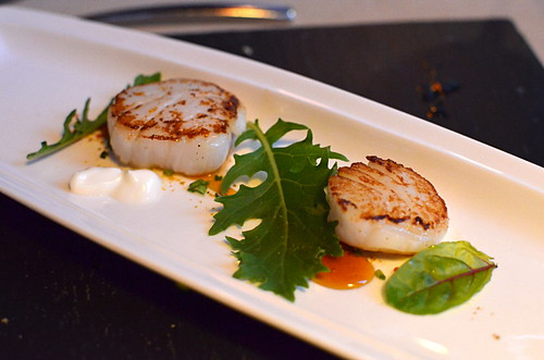 Scallops at Lucas Maes Restaurant, La Orotava