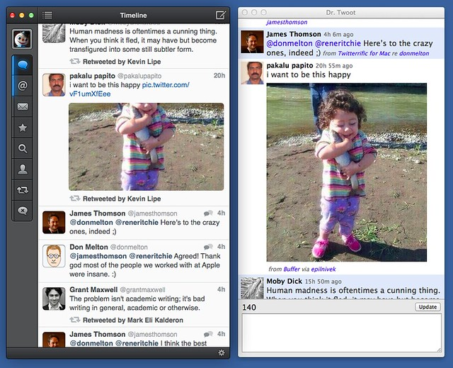 Tweetbot vs. Dr. Twoot single image