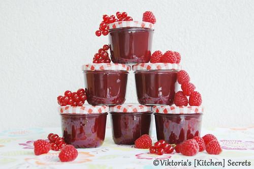 Himbeer Ribisel Marmelade, Viktoria's [Kitchen] Secrets