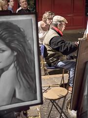 Artista en la Place du Tertre