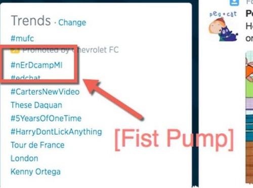 nErDcamp trending