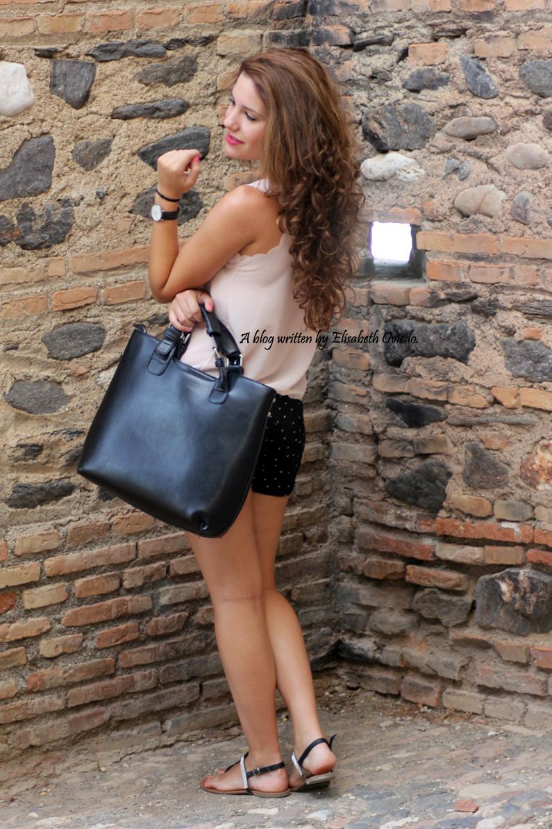 Shorts topos verano Oasap HEELSANDROSES (6)