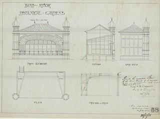 Band Kiosk, Botanic Gardens 1914