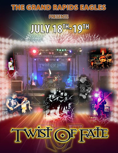 07/18 - 19/14 Twist Of Fate @ Eagles Club, Grand Rapids, MN