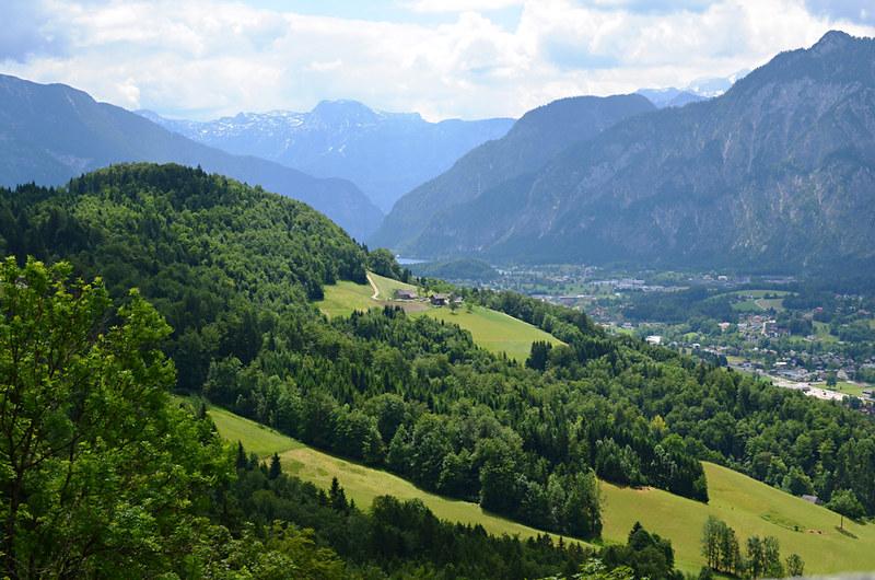 View across Goisern, Austria