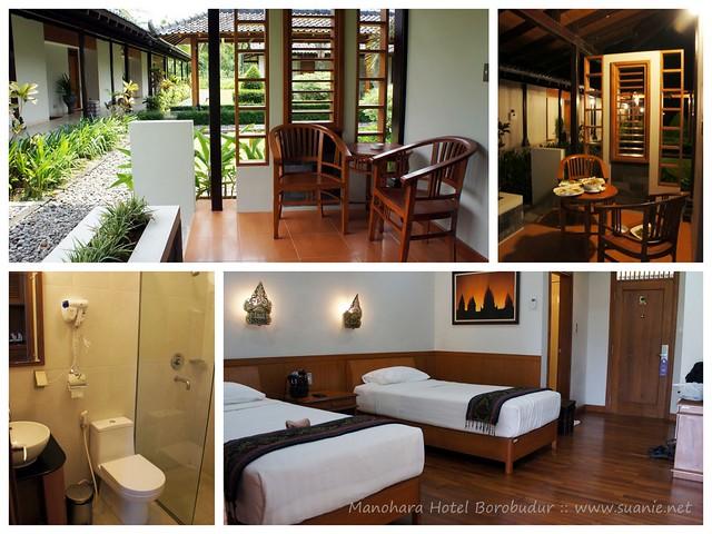 Manohara Hotel Borobudur, Yogyakarta - room