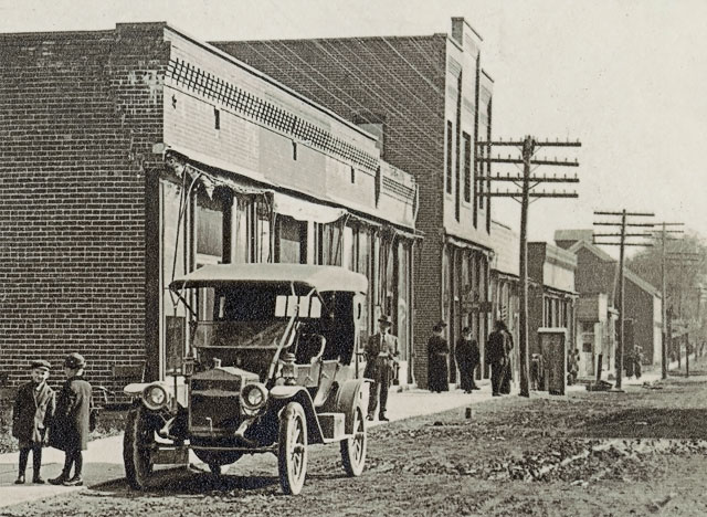 Second Street, Reynolds, Indiana, section 2