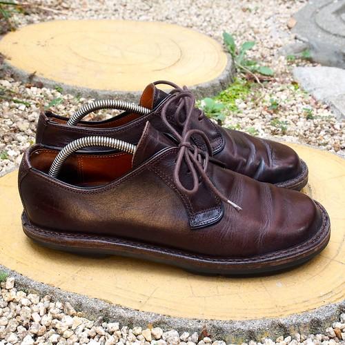 ある営業マンの靴 trippen