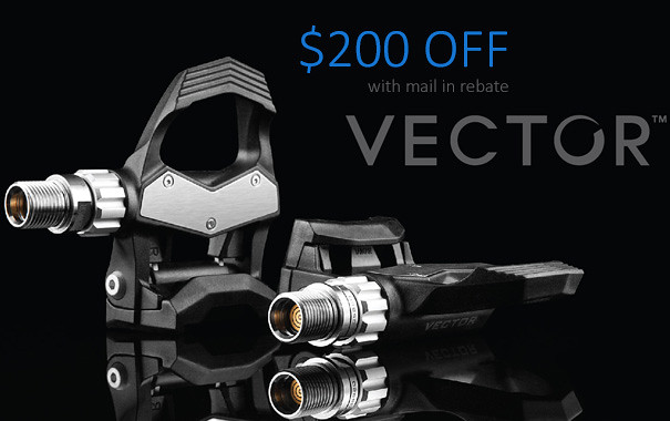 Garmin Vector $200 Off