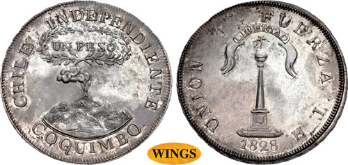 CHILE, Republic. Peso