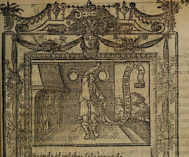 """Image from page 266 of """"Emblemas morales de don Ivan de Horozco y Couarruuias : dedicadas a la buena memoria del presidente Don Diego de Couarruuias y Leya su tio"""" (1589)"""
